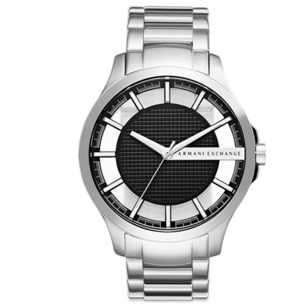 Armani Exchange  AX2179 Analog Quartz Men's  Silver Watch
