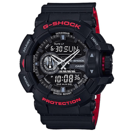 Casio G-Shock Black/Red Layer Series GA-400HR
