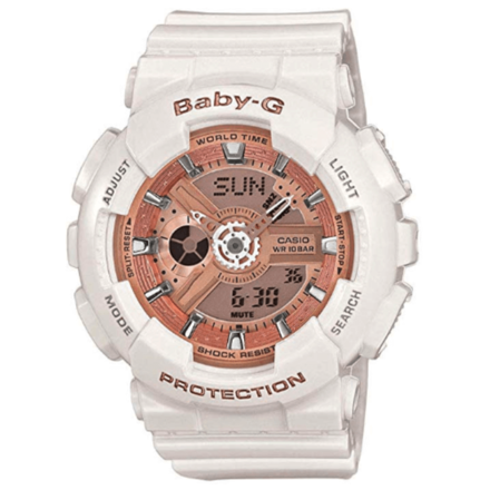 Casio Baby G Women BA110-7A1 Automatic White Watch