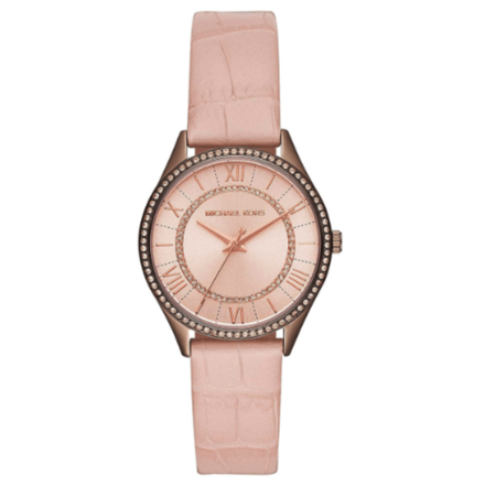 MICHAEL KORS Women's Year-Round Analog-Digital Quartz Pink Band Watch