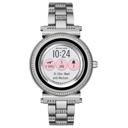 Michael Kors Access Sofie Touchscreen Smartwatch Silver MKT5036