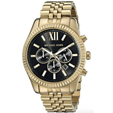 Michael Kors Men's Lexington Men's Gold-Tone Watch MK8286