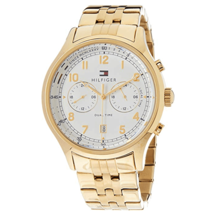 Tommy Hilfiger Men's Year-Round Analog Quartz Gold Watch 1791390