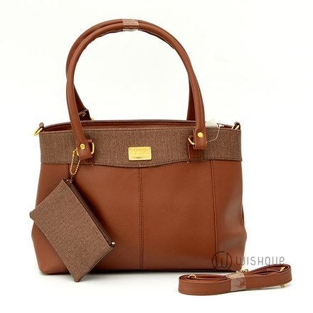 NP Rich Fashion Handbag Brown
