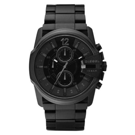 Diesel Men's Chief Series Analog Analog-quartz Black Watch DZ4180