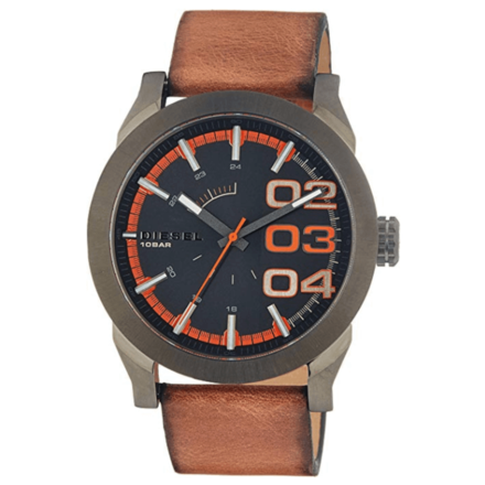 Diesel Men's Year-Round Analog Quartz Brown Watch DZ1680