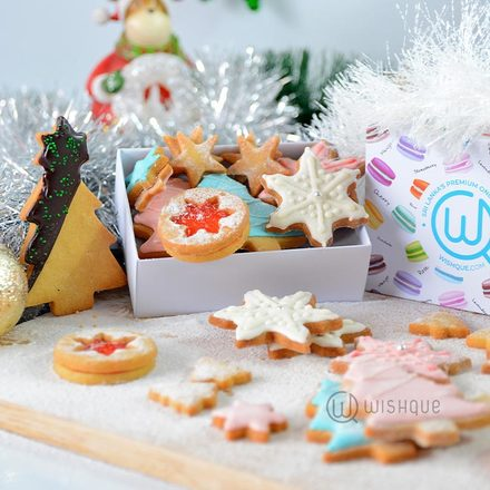 Sweet Christmas All In One Butter-Cookie Selection