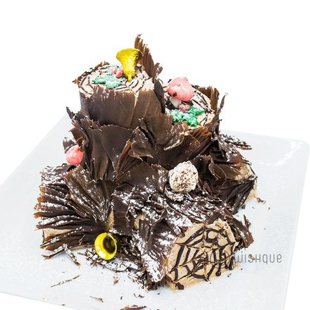 X'mas Chocolate Yule Log By Mahaweli Reach