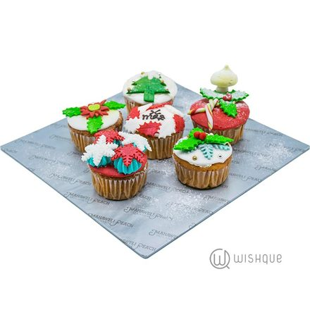 X'mas Cup Cakes 5pcs By Mahaweli Reach