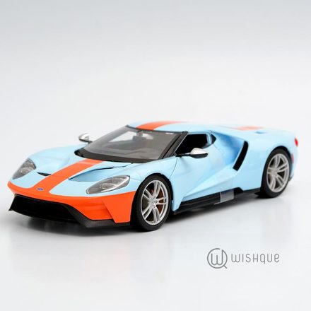 "2017 Ford GT Blue ""Official Licensed Product"""