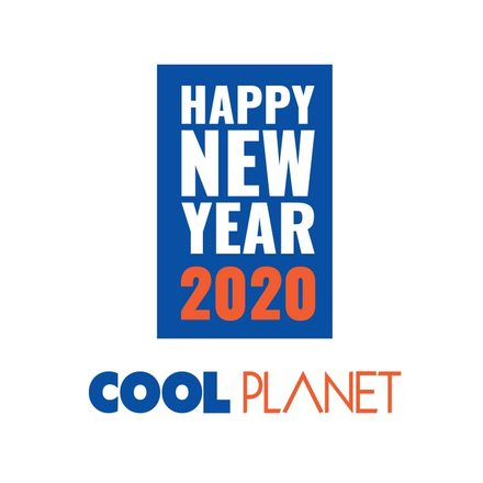 Cool Planet New Year Chocolate Cake - 1Kg