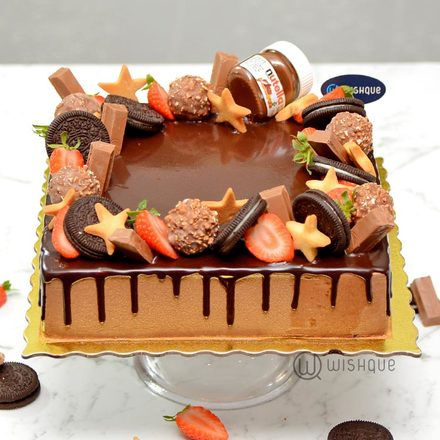 Chocolate Frenzy Celebration Cake