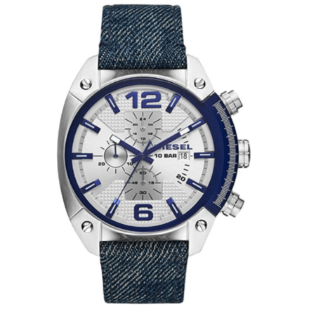 DIESEL Men's DZ4480 Year-Round Analog-Digital Quartz Blue Band Watch