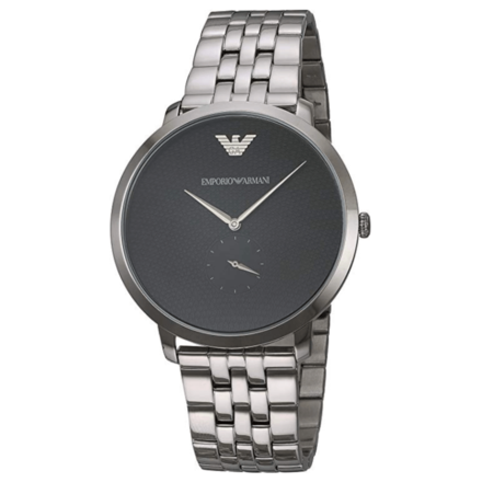 Emporio Armani Men's AR11161 Analog Quartz Silver Watch