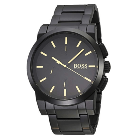 Hugo Boss Men's Quartz Watch analog Display and Stainless Steel Strap, 1513276