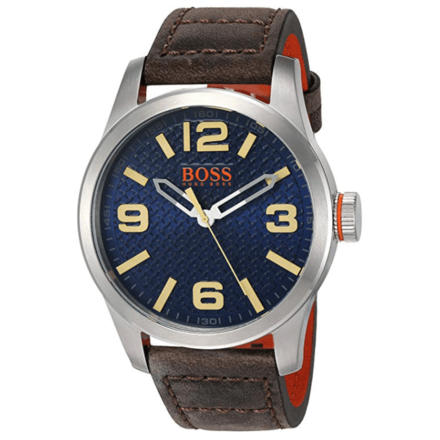HUGO BOSS Orange Men's 'PARIS' Quartz Stainless Steel Casual Watch