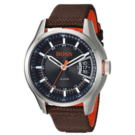 HUGO BOSS Men's HONG KONG SPORT Stainless Steel Quartz Watch
