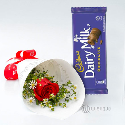 Cadbury With A Rose