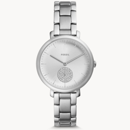 Fossil ES4437 Jacqueline Three-Hand Stainless Steel Women's Watch