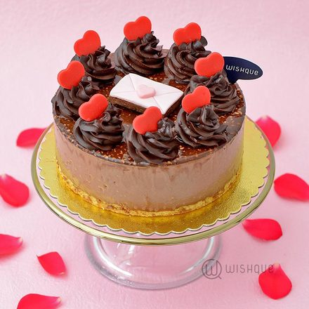 Love Letter For Her/Him Chocolate Cheesecake