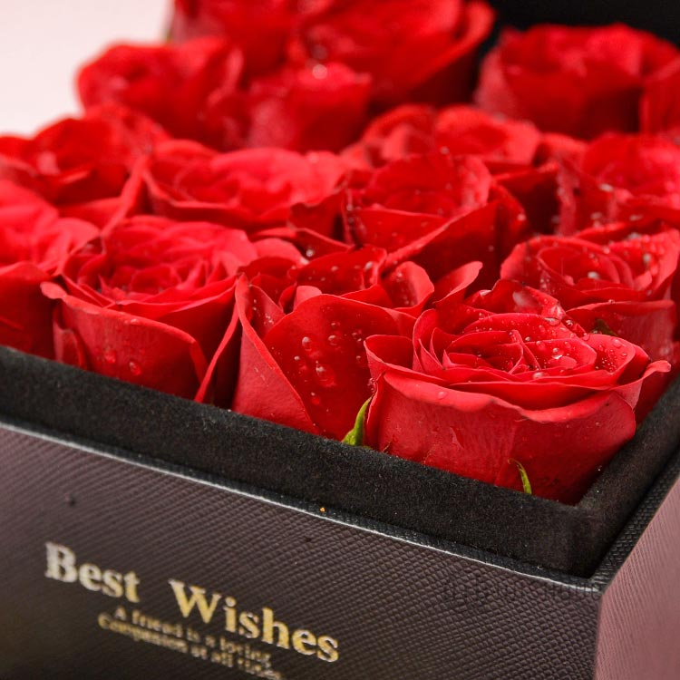 Fresh Red Rose Drawer With Love