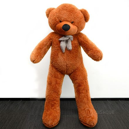 Giant Life Size Teddy Bear In Brown (5 Feet)