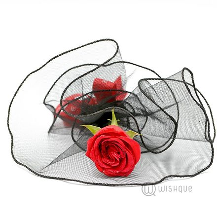 Unique Love Singal Rose Arrangment