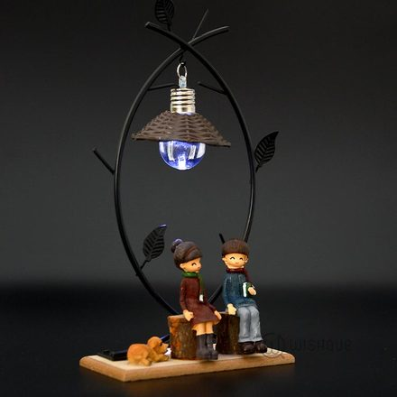 Summer Days Couple Ornament with Night Light
