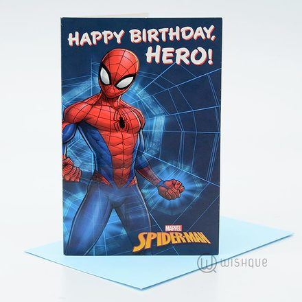 Happy Birthday Hero Greeting Card