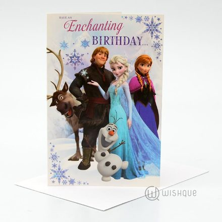 Have An Enchanting Birthday Card
