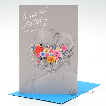 Beautiful Birthday Wishes Greeting Card