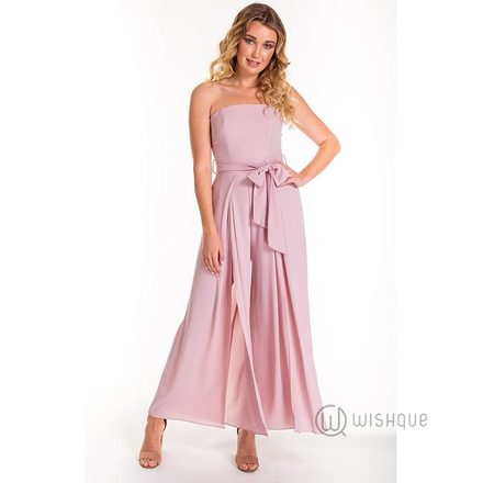 Luxe Blush Jumpsuit By Rushi Clothing