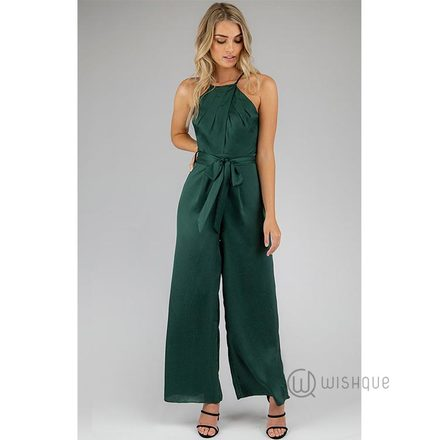 Icon Khakhi Jumpsuit By Rushi Clothing