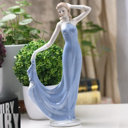 Dance With Me Porcelain Lady Figurine