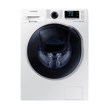 Samsung 8kg Fully Automatic Front Loading Washer & 6Kg Dryer with Eco-Bubble