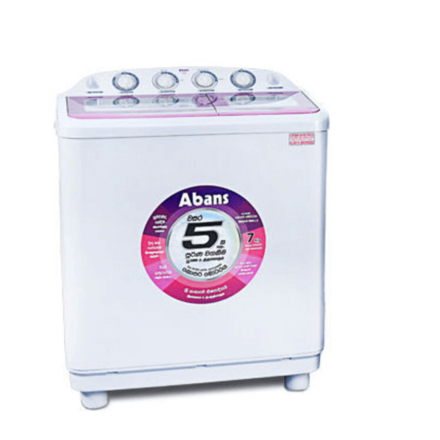 Abans 7kg Semi Automatic Top Loading Washing Machine