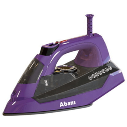 Abans Steam Iron (Balck+Purple)