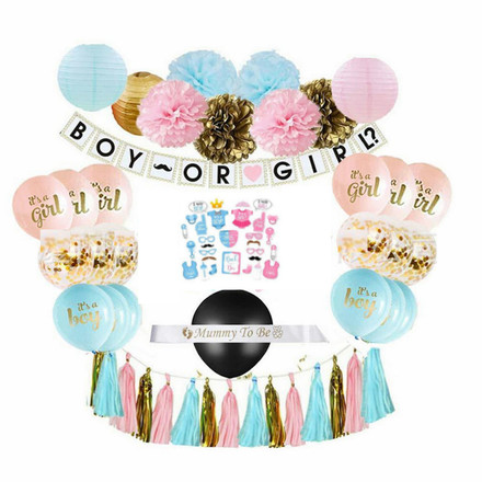 Baby Shower Mom To Be Theme Party Decor Set