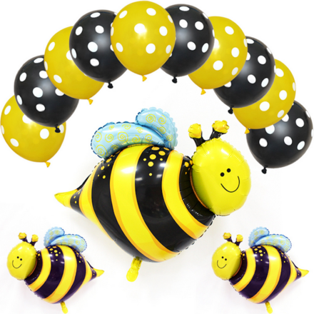 Little Bee Theme Birthday Party Decoration Set