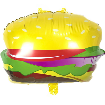 Burger Foil Balloon