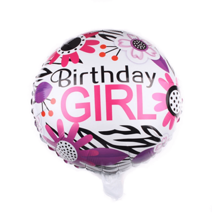 Birthday Girl Foil Balloon