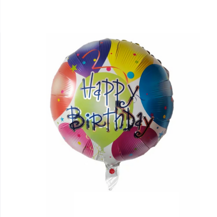 Happy Birthday Party Foil Balloon