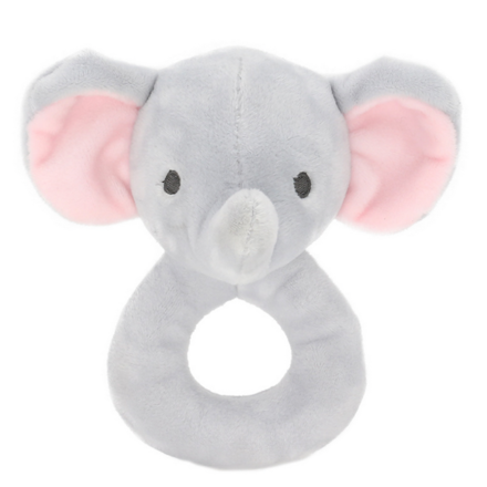 Baby Elephant Ring Rattle