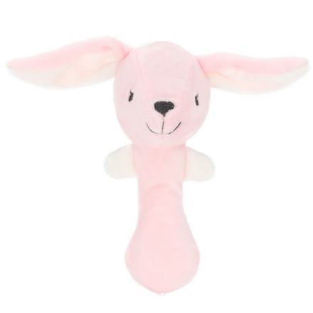 Plush Rabbit Stick Rattle