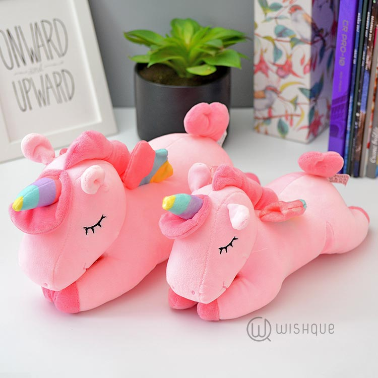 Adorable Unicorn Soft Toy - Pink