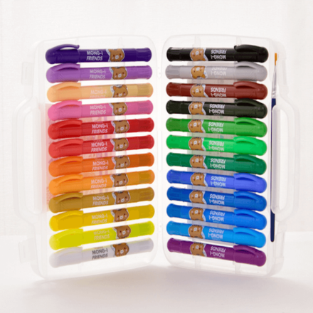 24 Colour Oil Pastels Suitcase