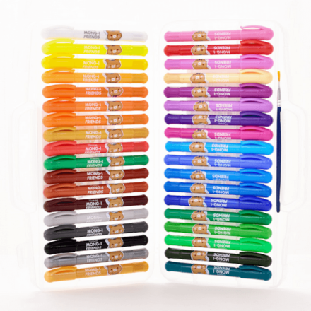36 Colour Oil Pastels Suitcase