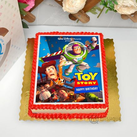 Toy Story Edible Print Cake 1.5Kg