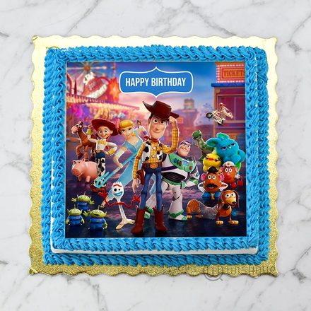 Toy Story Edible Print Cake 1Kg