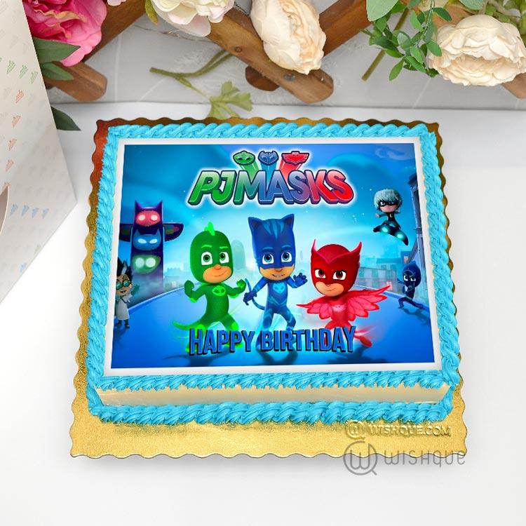 Pj Masks Edible Print Cake 1 5kg Wishque Sri Lanka S Premium Online Shop Send Gifts To Sri Lanka
